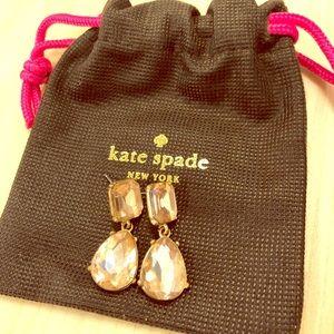 Kate Spade Light Pink Drop Earrings